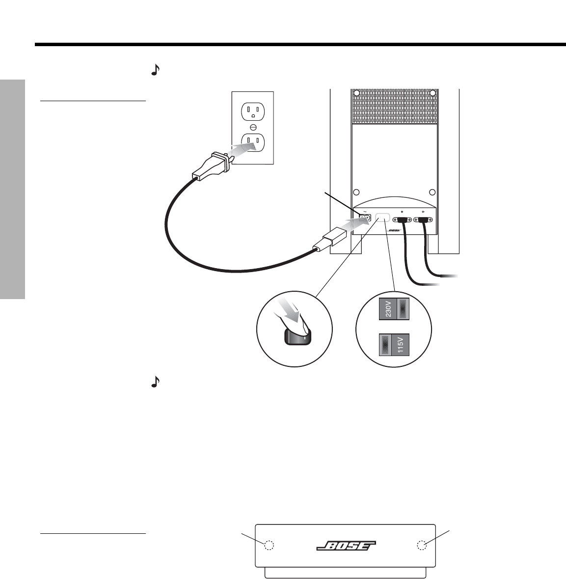 Bose Cinemate Speaker System Manual: Software Free