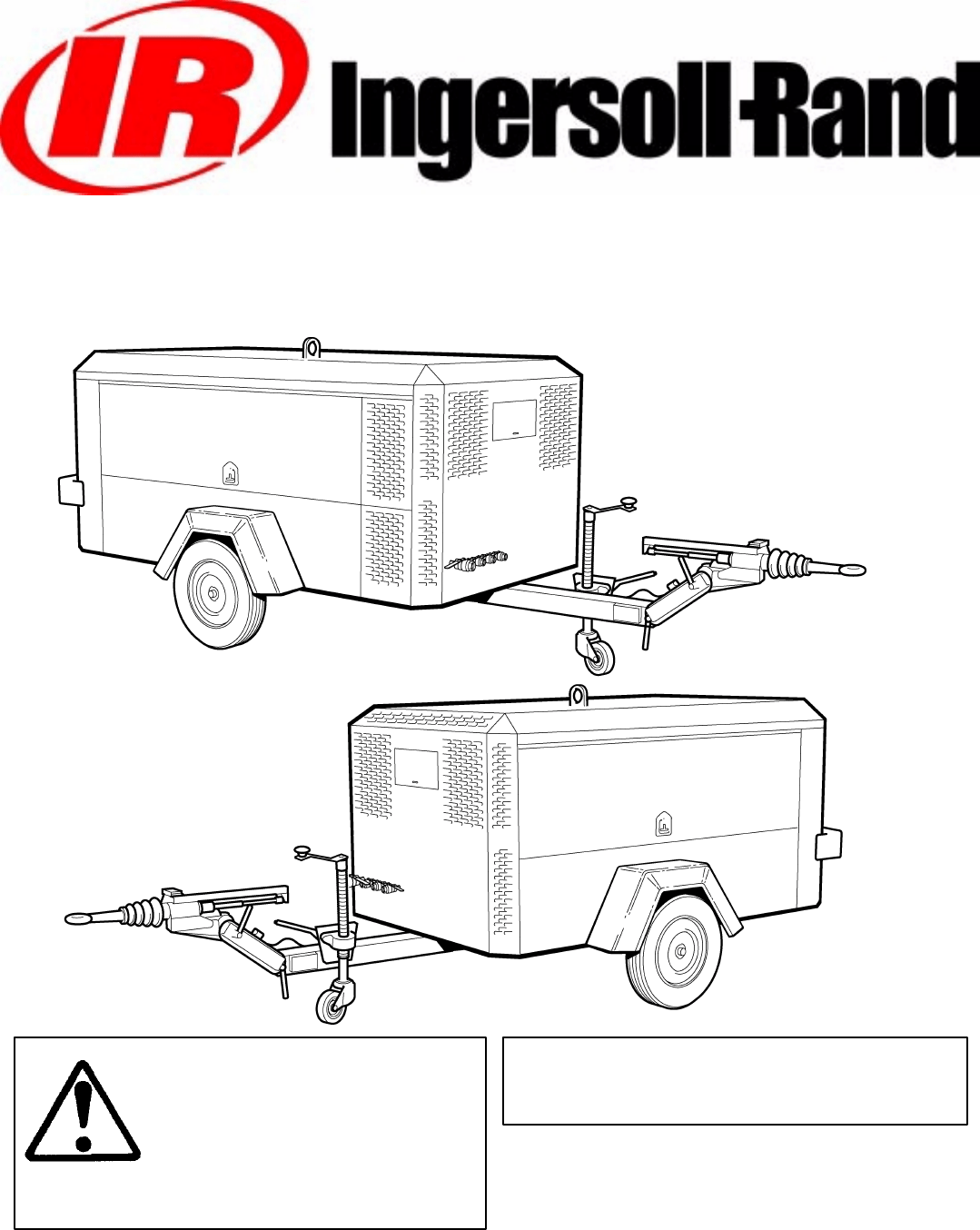 Ingersoll-Rand Air Compressor 7120 User Guide