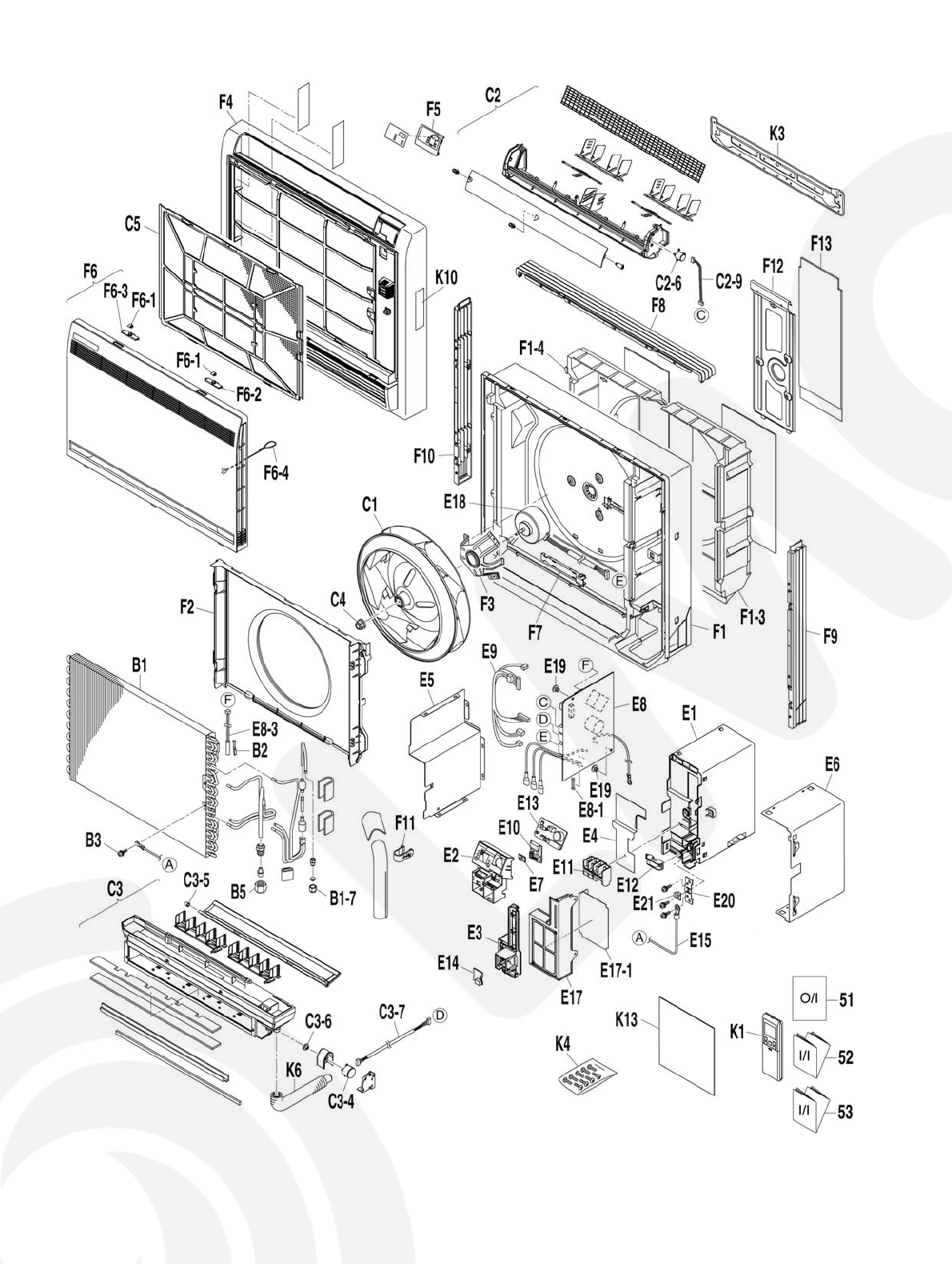Page 36 of Panasonic Air Conditioner CS-E18GFEW-2 User