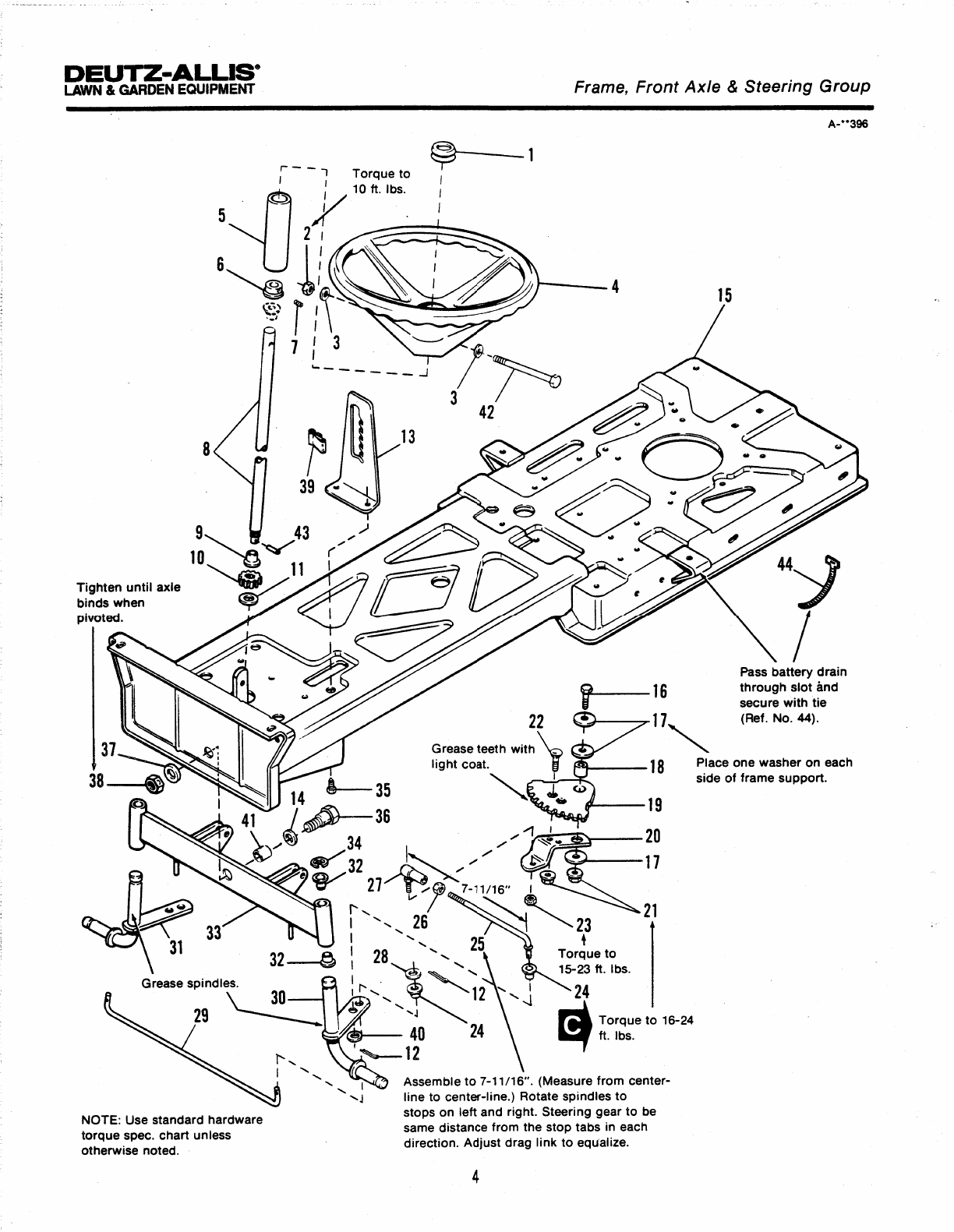 Page 10 of Simplicity Lawn Mower 100 Series User Guide