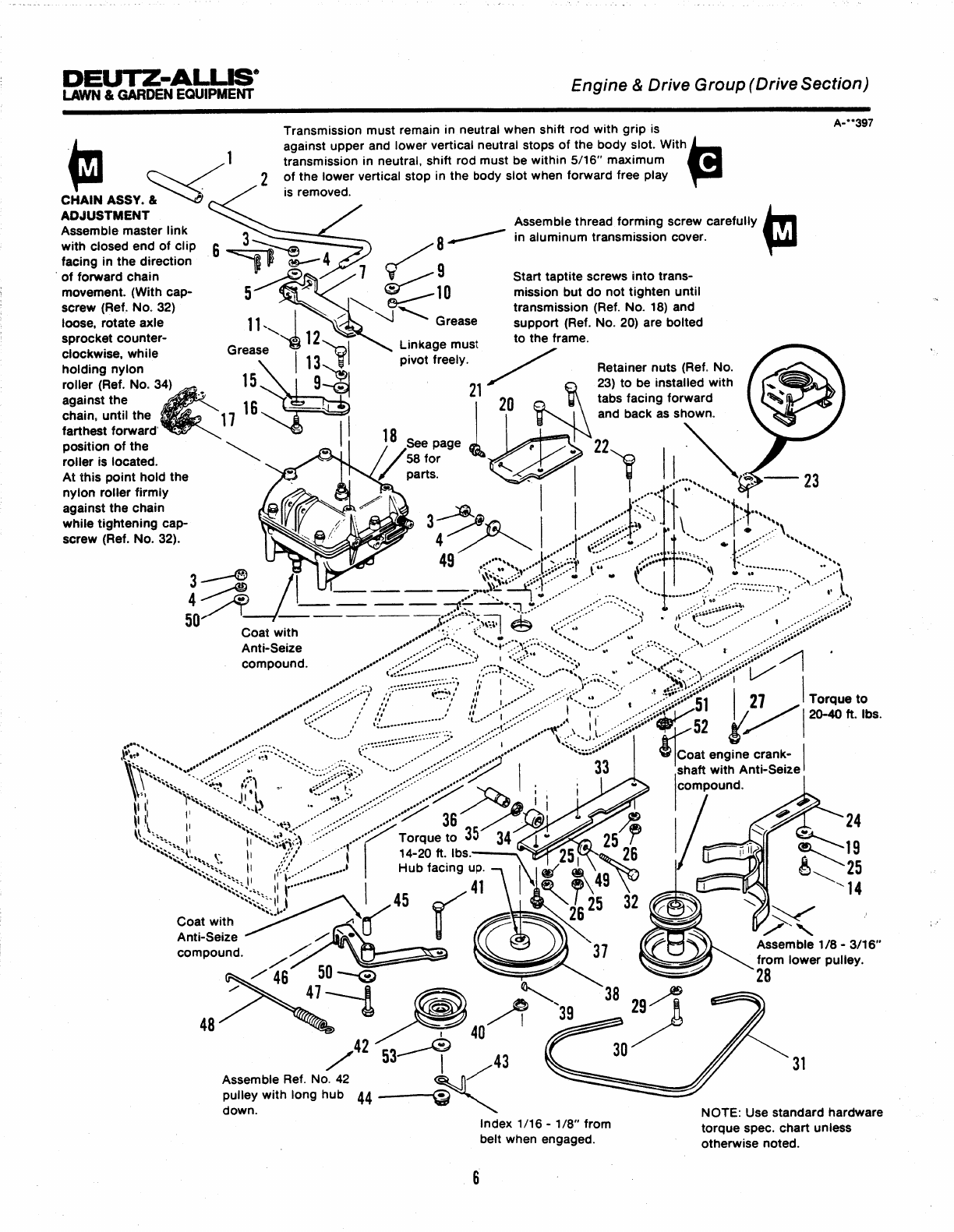 Page 12 of Simplicity Lawn Mower 100 Series User Guide