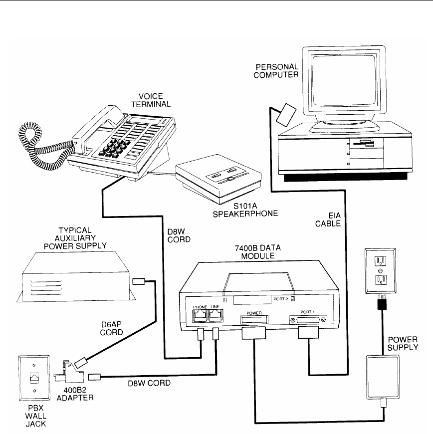 Page 15 of Lucent Technologies Telephone 7400B User Guide