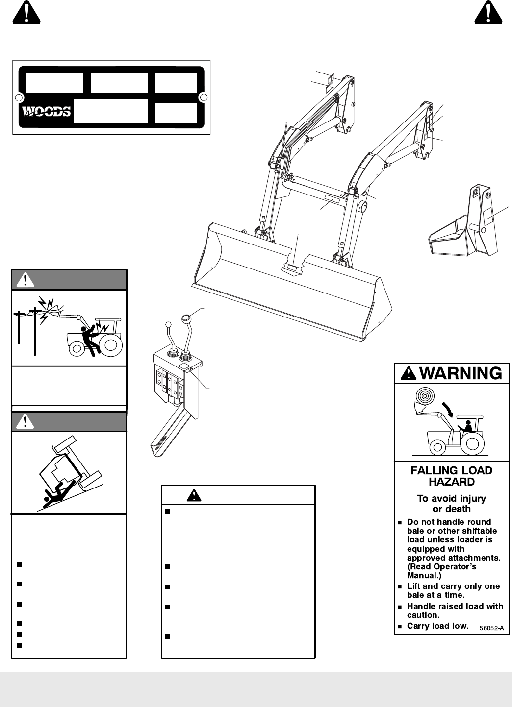 Page 6 of Woods Equipment Lawn Mower M8200 User Guide