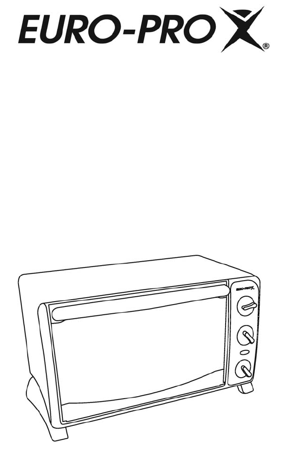 Euro-Pro Convection Oven TO289N2 User Guide