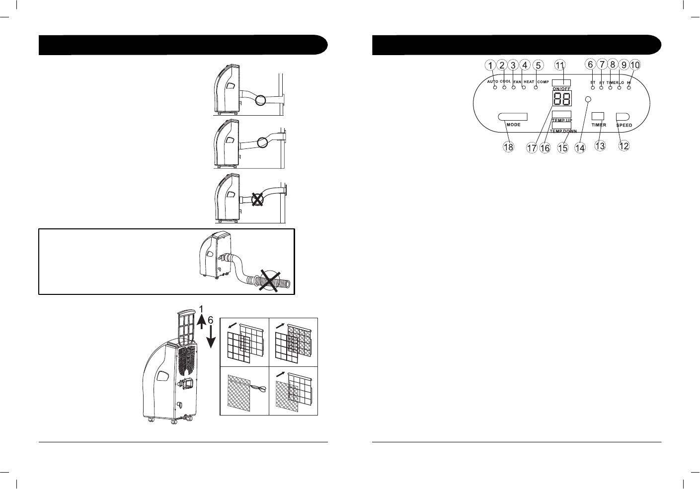 Page 5 of Sunpentown Intl Air Conditioner WA-1010E User