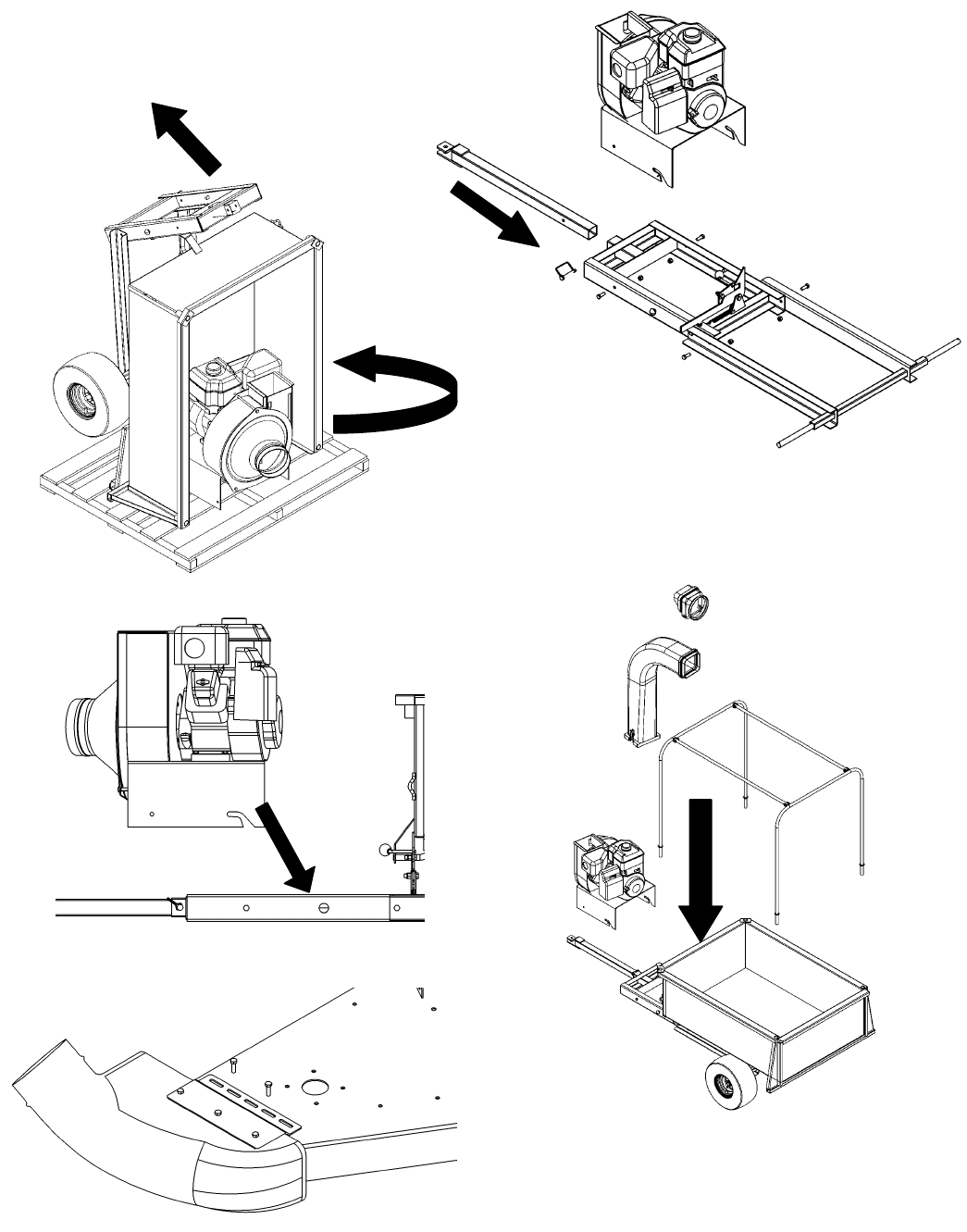 Page 6 of Swisher Yard Vacuum LV5537, LV5537S User Guide