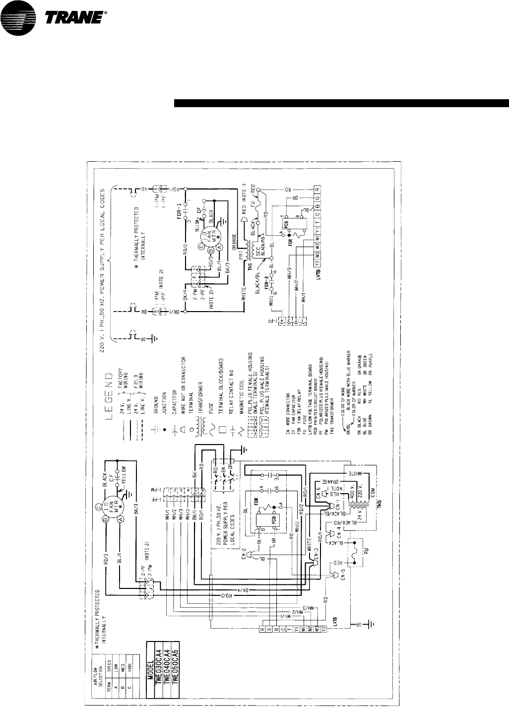 Page 24 of Trane Welding System TWE030c User Guide