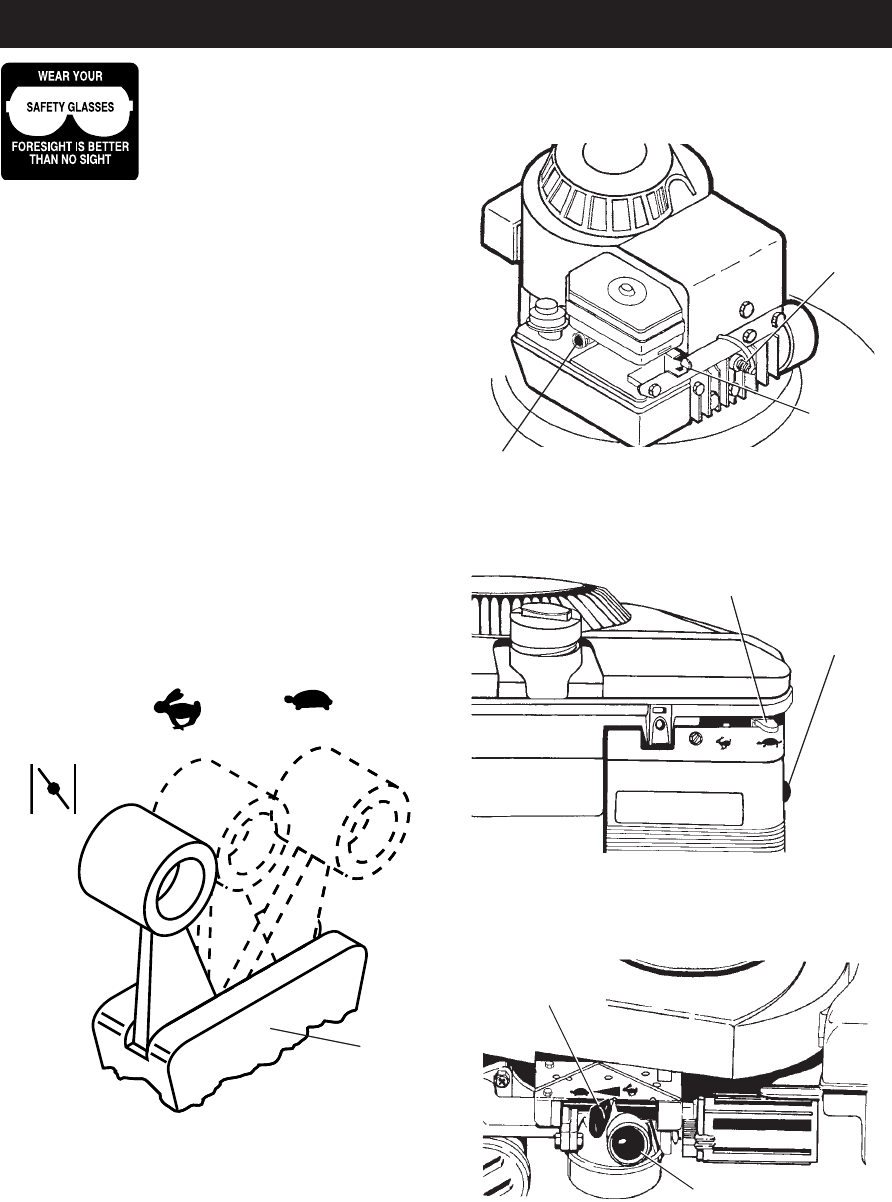 Page 9 of Poulan Lawn Mower 172787 User Guide