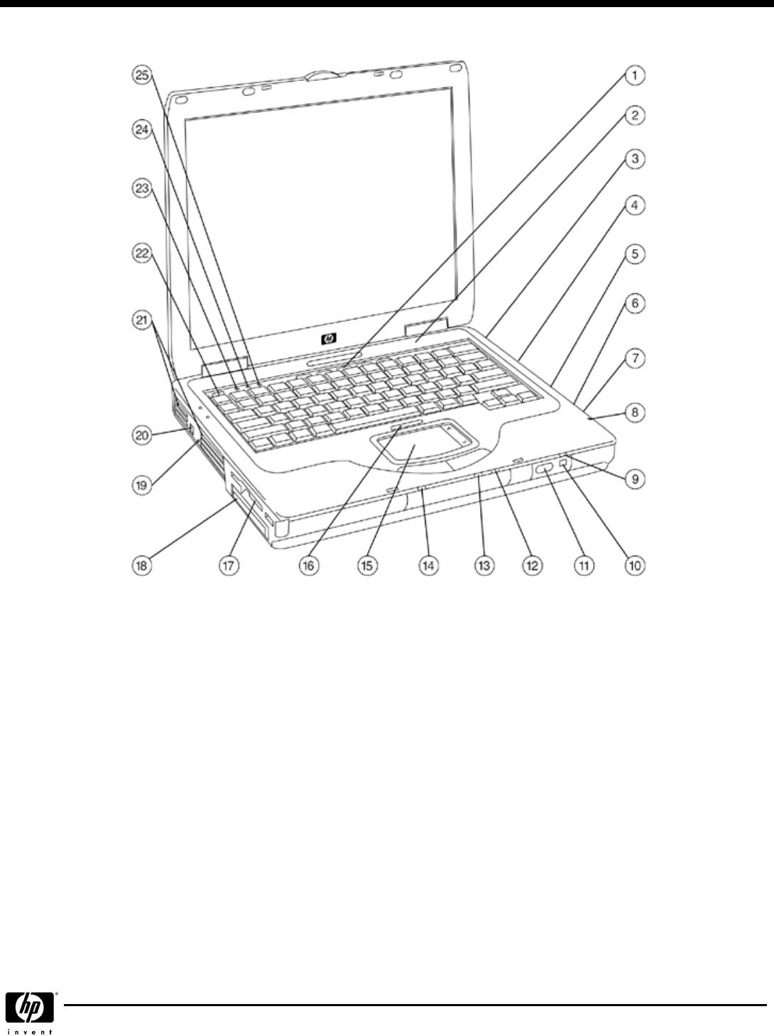 HP (Hewlett-Packard) Laptop nx9010 User Guide