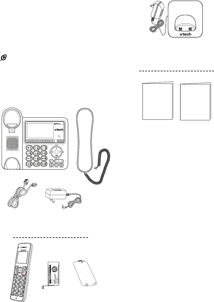 Page 8 of VTech Cordless Telephone CS6649 User Guide