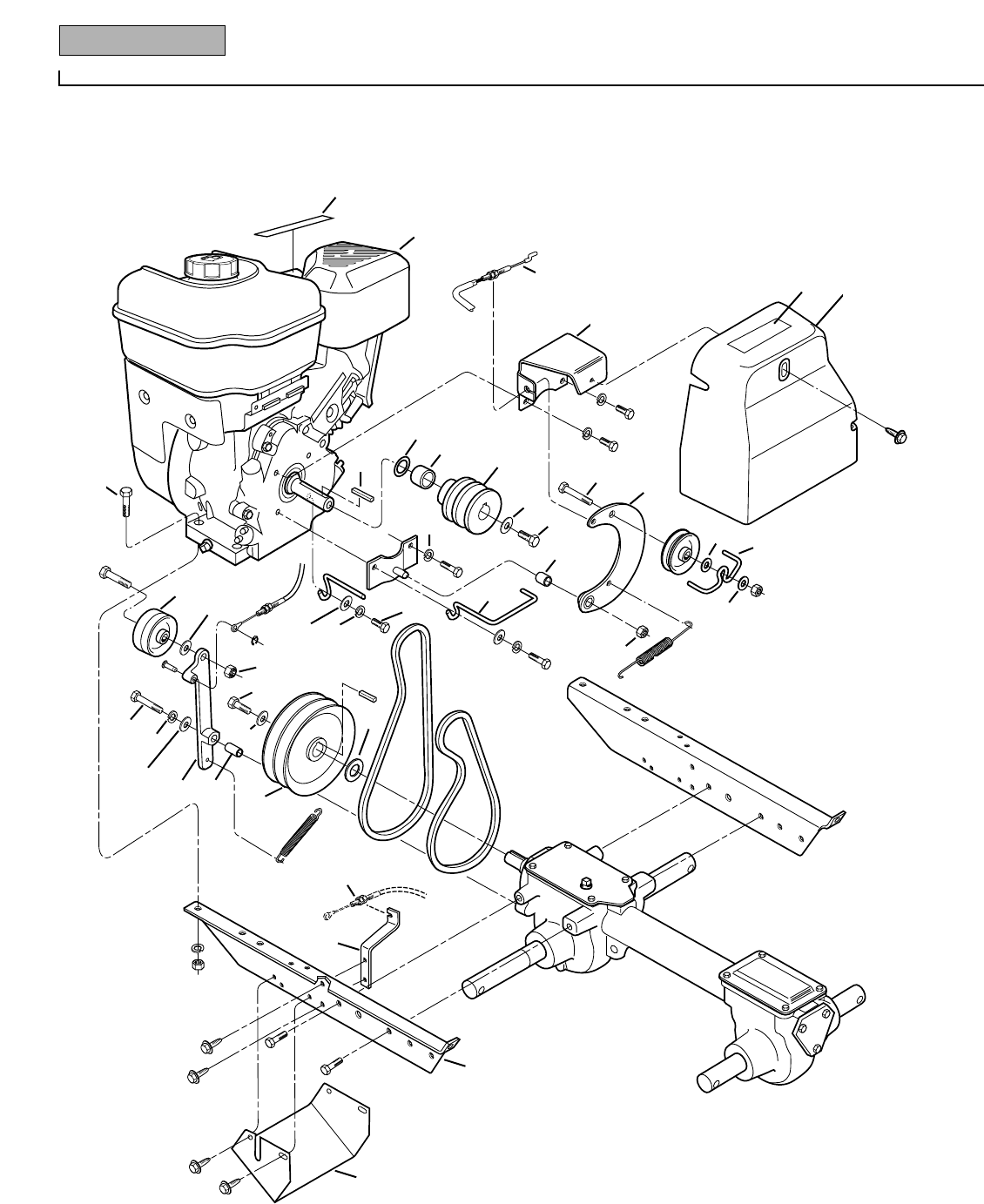 Troy Bilt Tiller Parts Manual