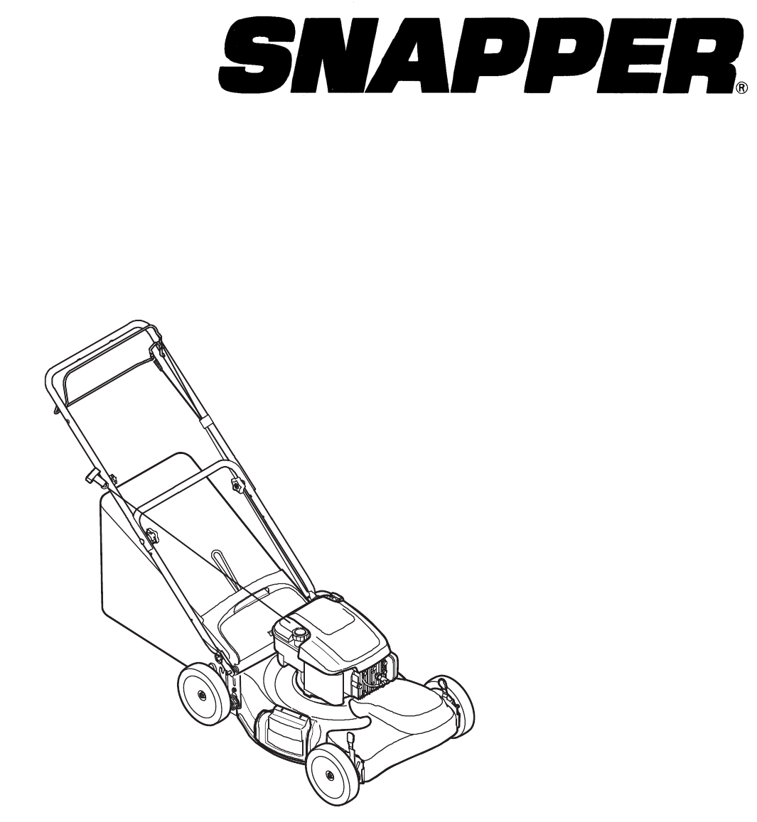 Briggs & Stratton Lawn Mower 7800929-00 SP70 User Guide