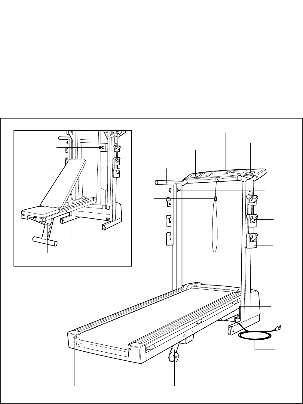 Page 5 of ProForm Treadmill 831.297460 User Guide