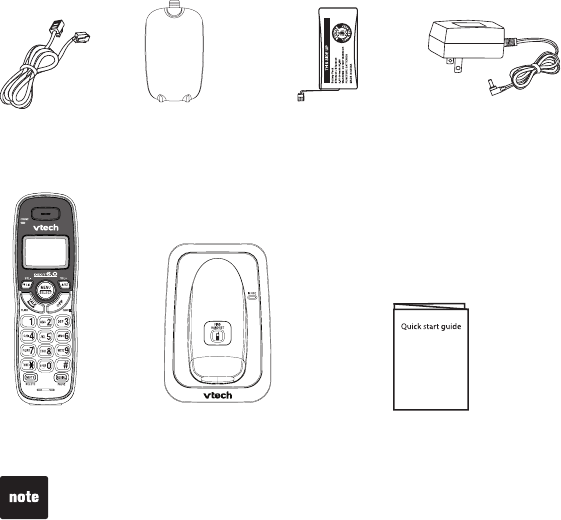 Page 4 of VTech Cordless Telephone CS6114 User Guide