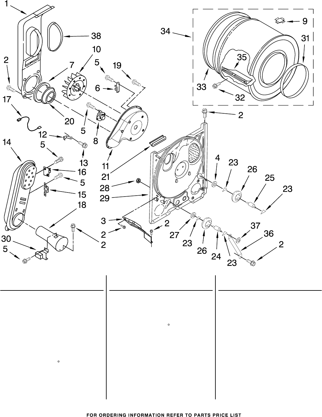 Page 7 of Whirlpool Clothes Dryer WGD5200TQ0 User Guide