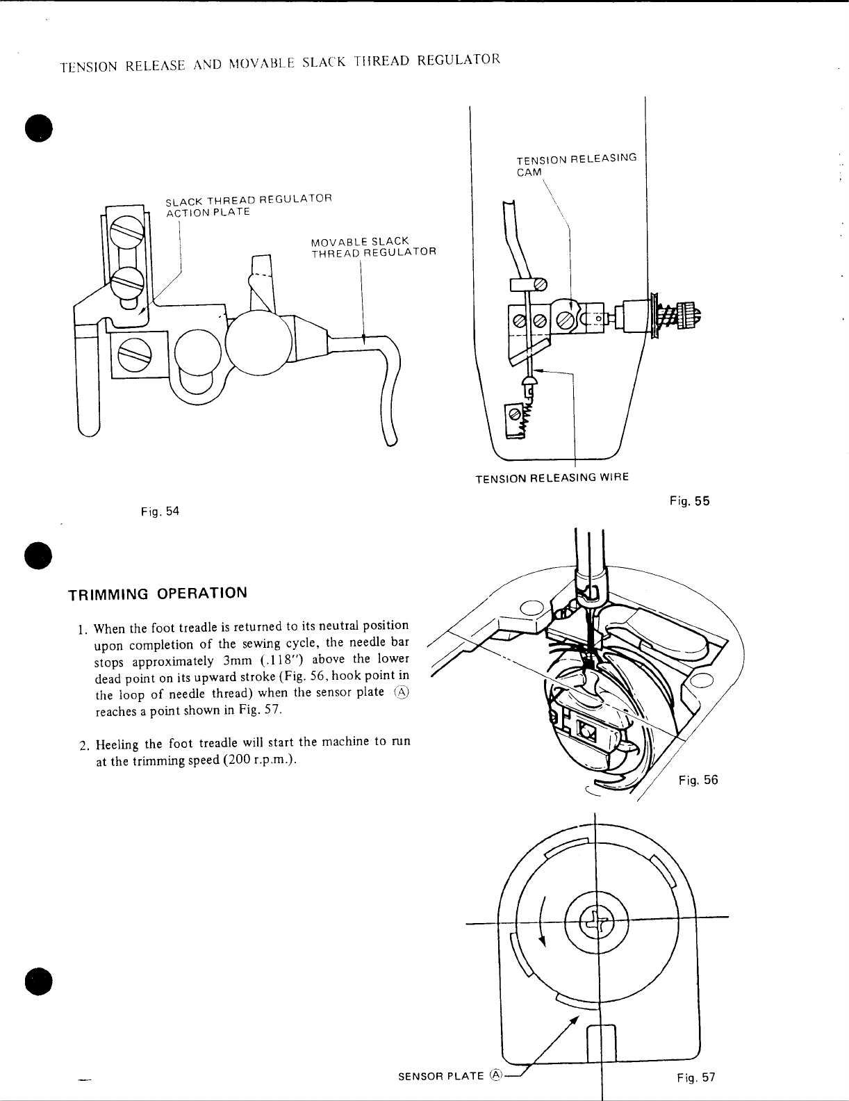 Page 3 of Singer Sewing Machine 601 User Guide