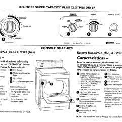Kenmore Dryer Wiring Diagram Manual Toyota Landcruiser 79 Series 600 Clothes Schematics Get Free Image