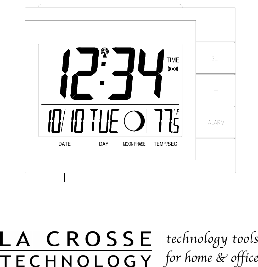 La Crosse Technology Clock WS-8053U User Guide