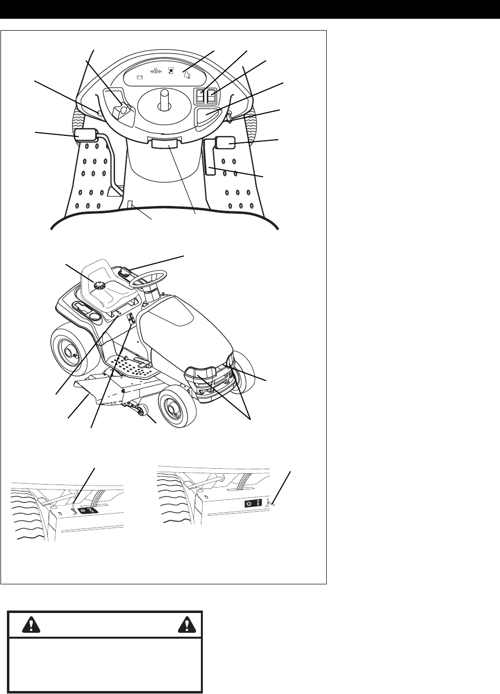 Page 2 of Ariens Lawn Mower 936036-2548 User Guide