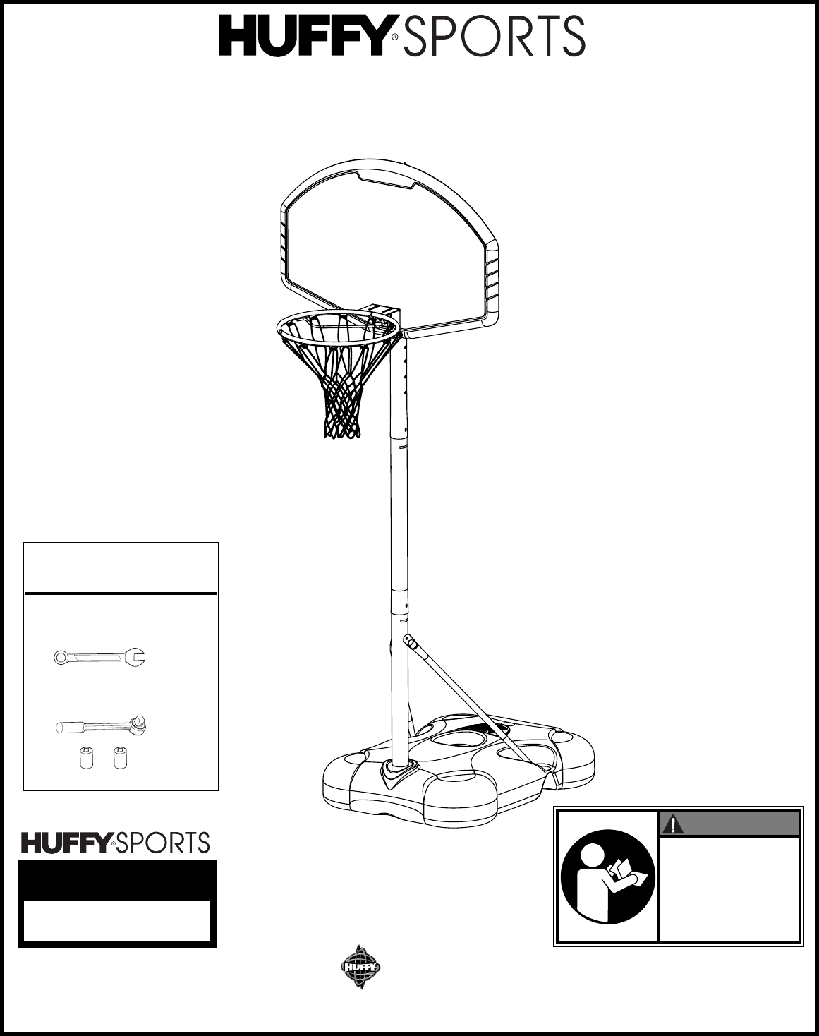 Huffy Board Games Youth Basketball System User Guide