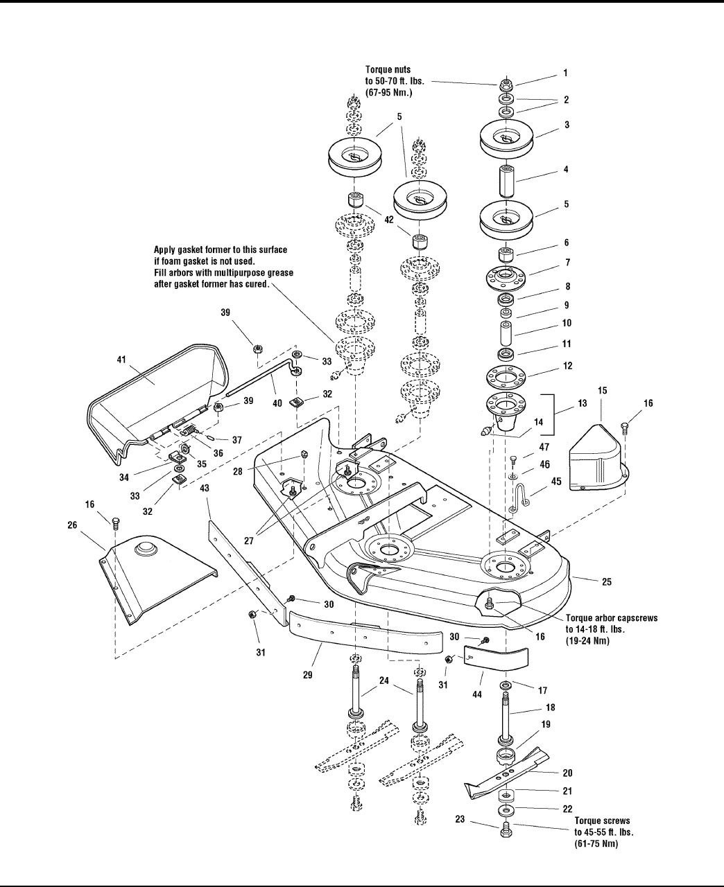 Page 44 of Simplicity Lawn Mower Garden Tractor & Mower