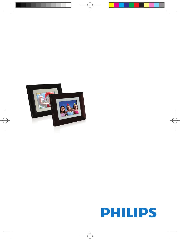 Philips Digital Photo Frame SPF 3407D/G7 User Guide