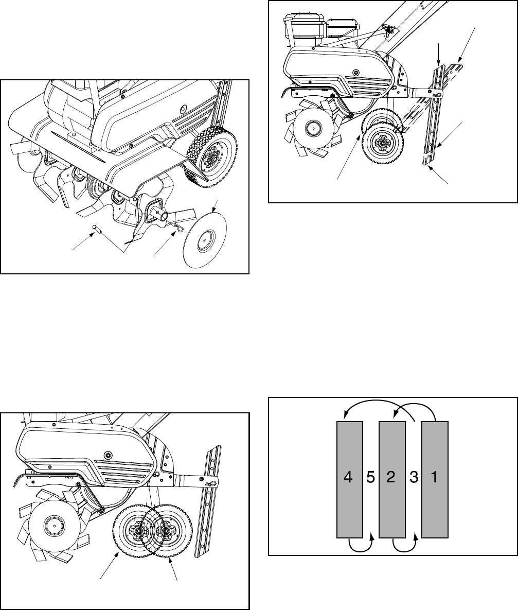 Page 9 of White Outdoor Tiller 393 User Guide