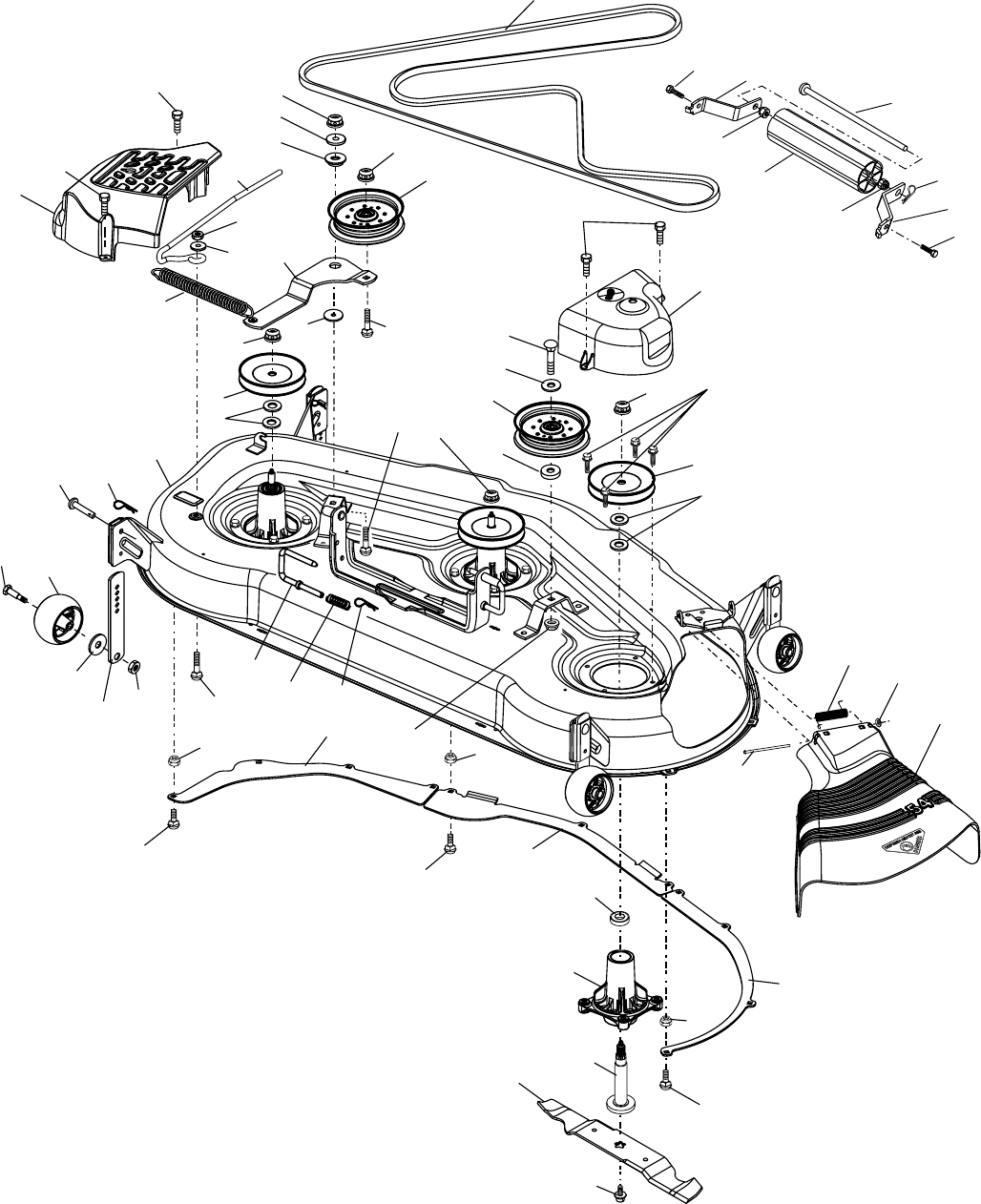 Page 44 of Husqvarna Lawn Mower GTH2254XP User Guide