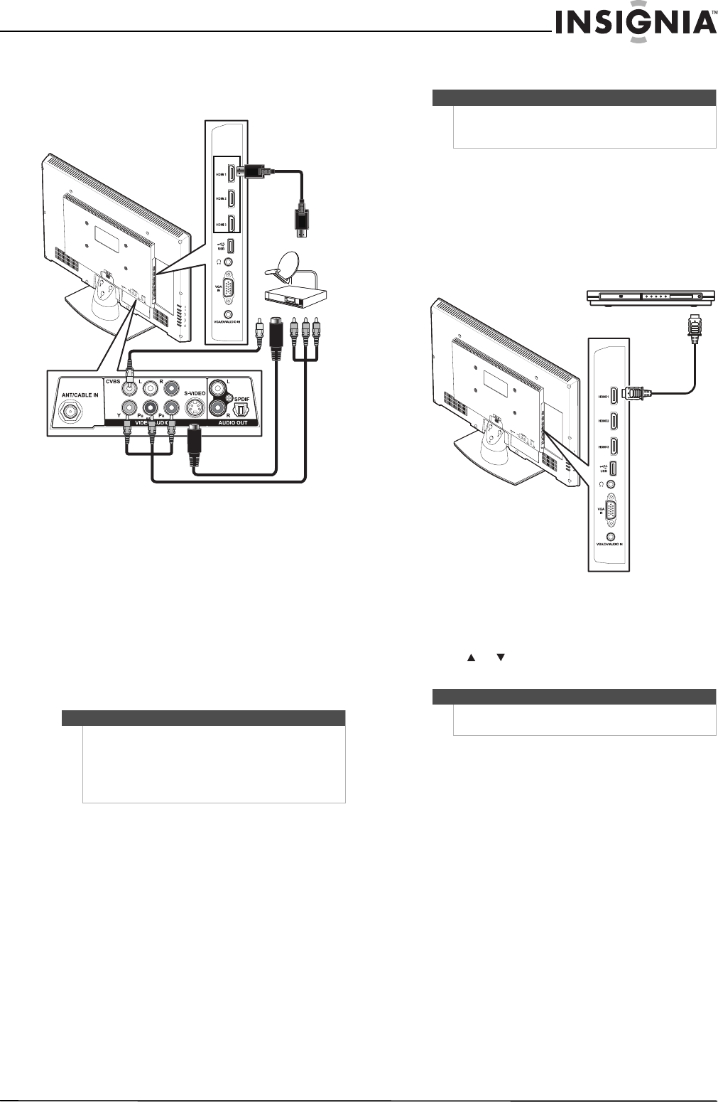 Page 19 of Insignia Flat Panel Television NS-26L450A11