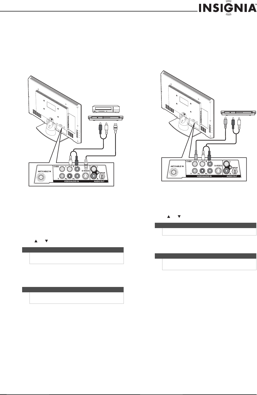 Page 21 of Insignia Flat Panel Television NS-26L450A11