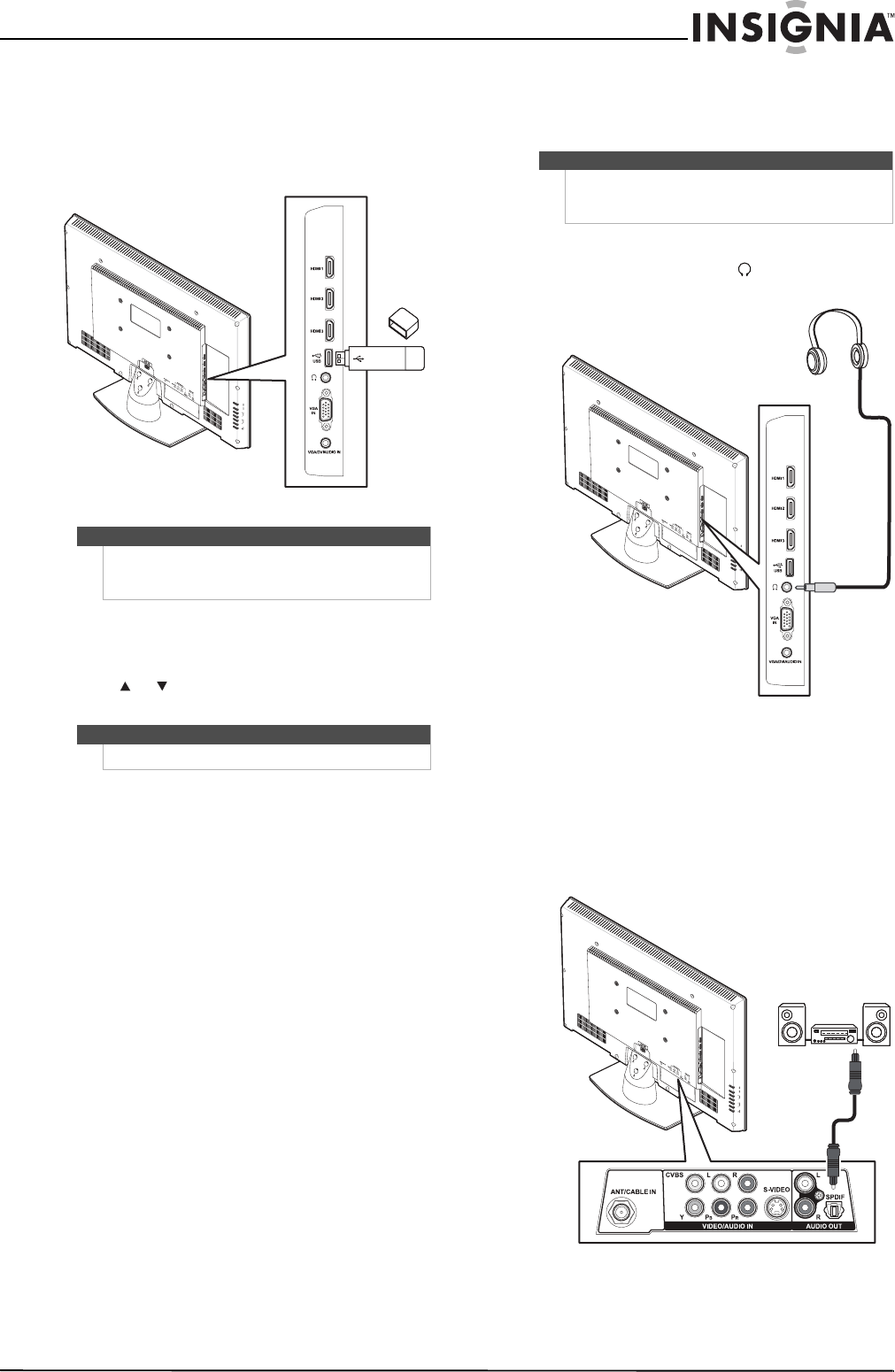 Page 23 of Insignia Flat Panel Television NS-32L450A11