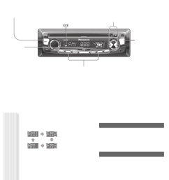 page 8 of panasonic car stereo system cq cp134u user guide preparation wiring diagram  [ 951 x 1311 Pixel ]