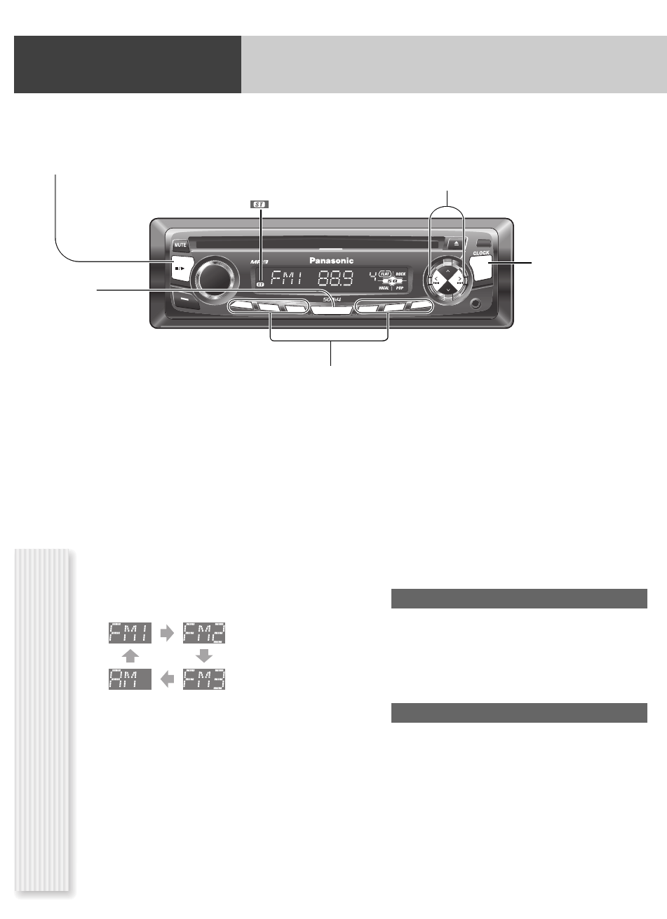 hight resolution of page 8 of panasonic car stereo system cq cp134u user guide preparation wiring diagram