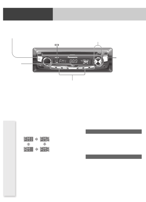 small resolution of page 8 of panasonic car stereo system cq cp134u user guide preparation wiring diagram