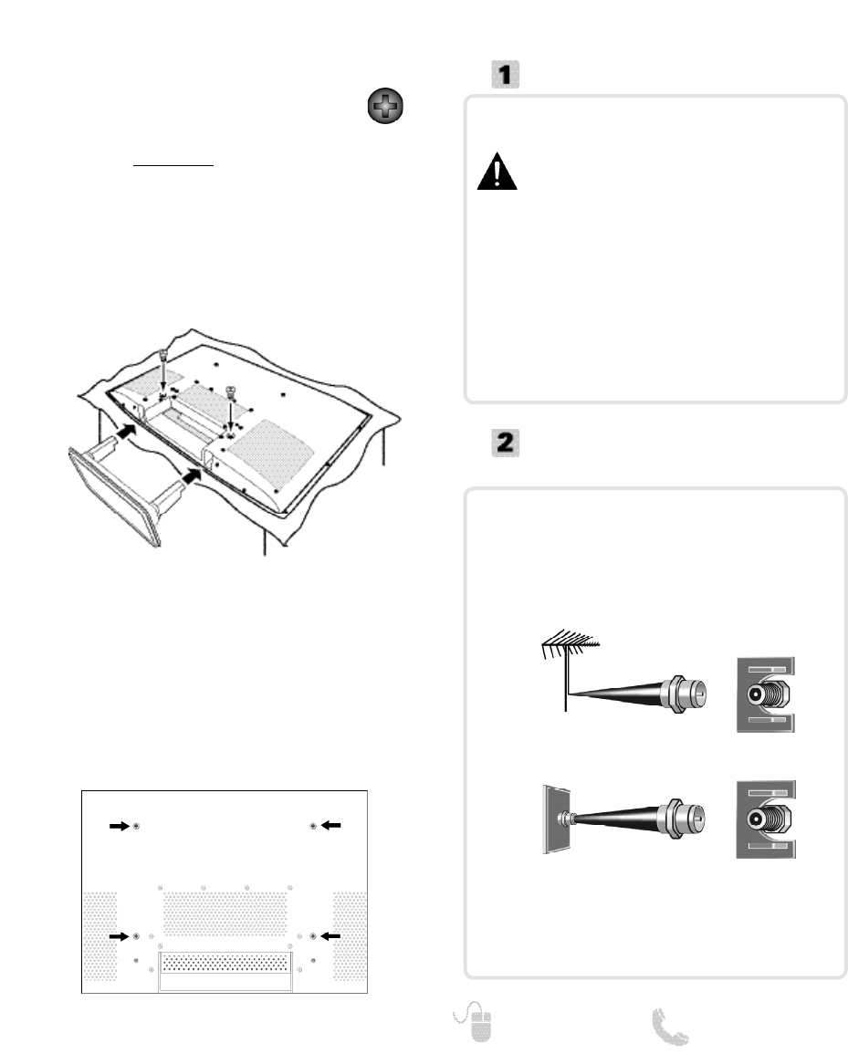 Page 5 of Sanyo Flat Panel Television DP42740 User Guide