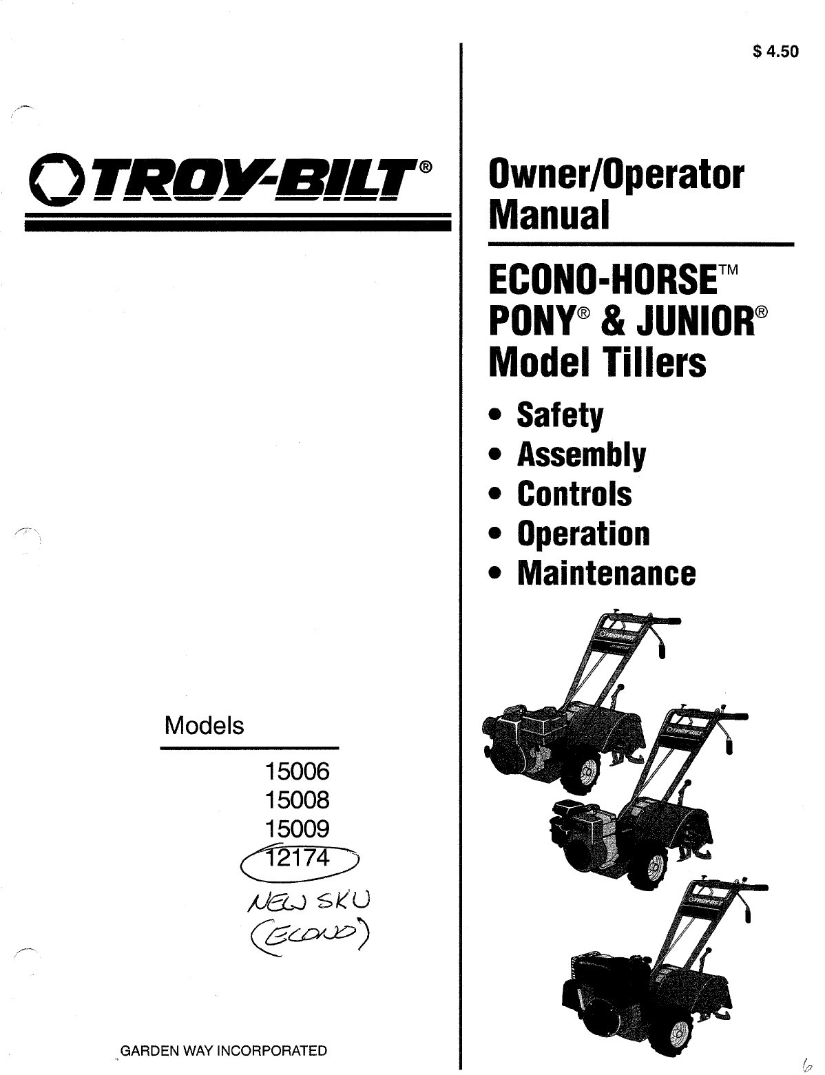 Troy Bilt 13aj609g766 Parts Manual