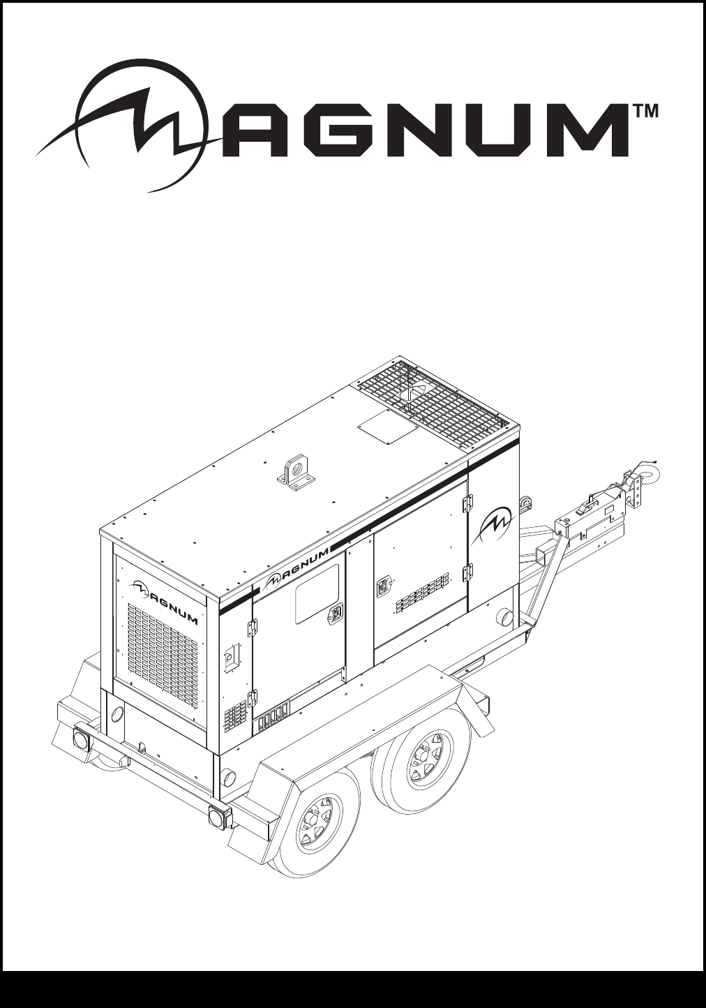 Magnum Research Portable Generator MMG100 User Guide