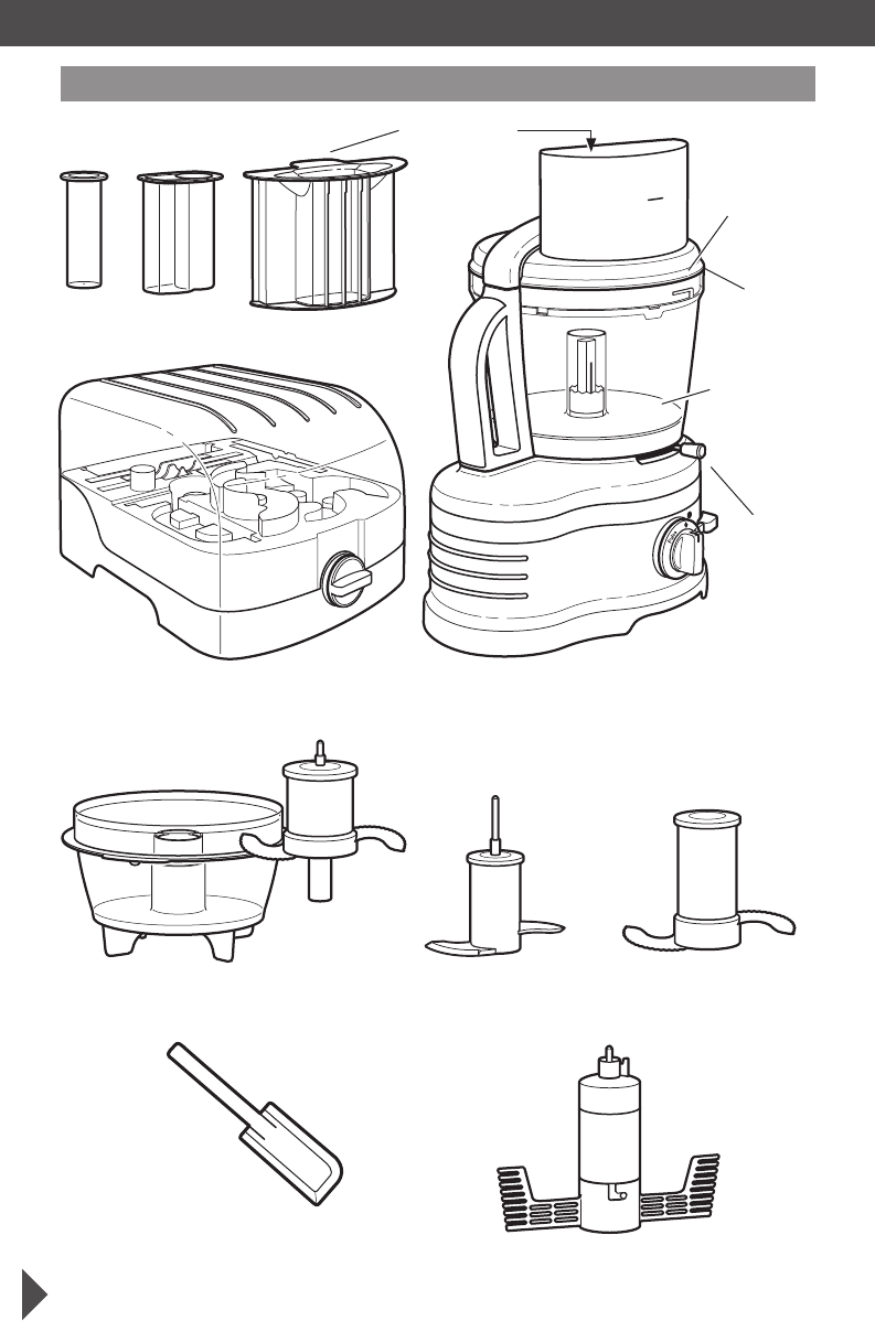 Page 5 of KitchenAid Food Processor 5KFP1644 User Guide