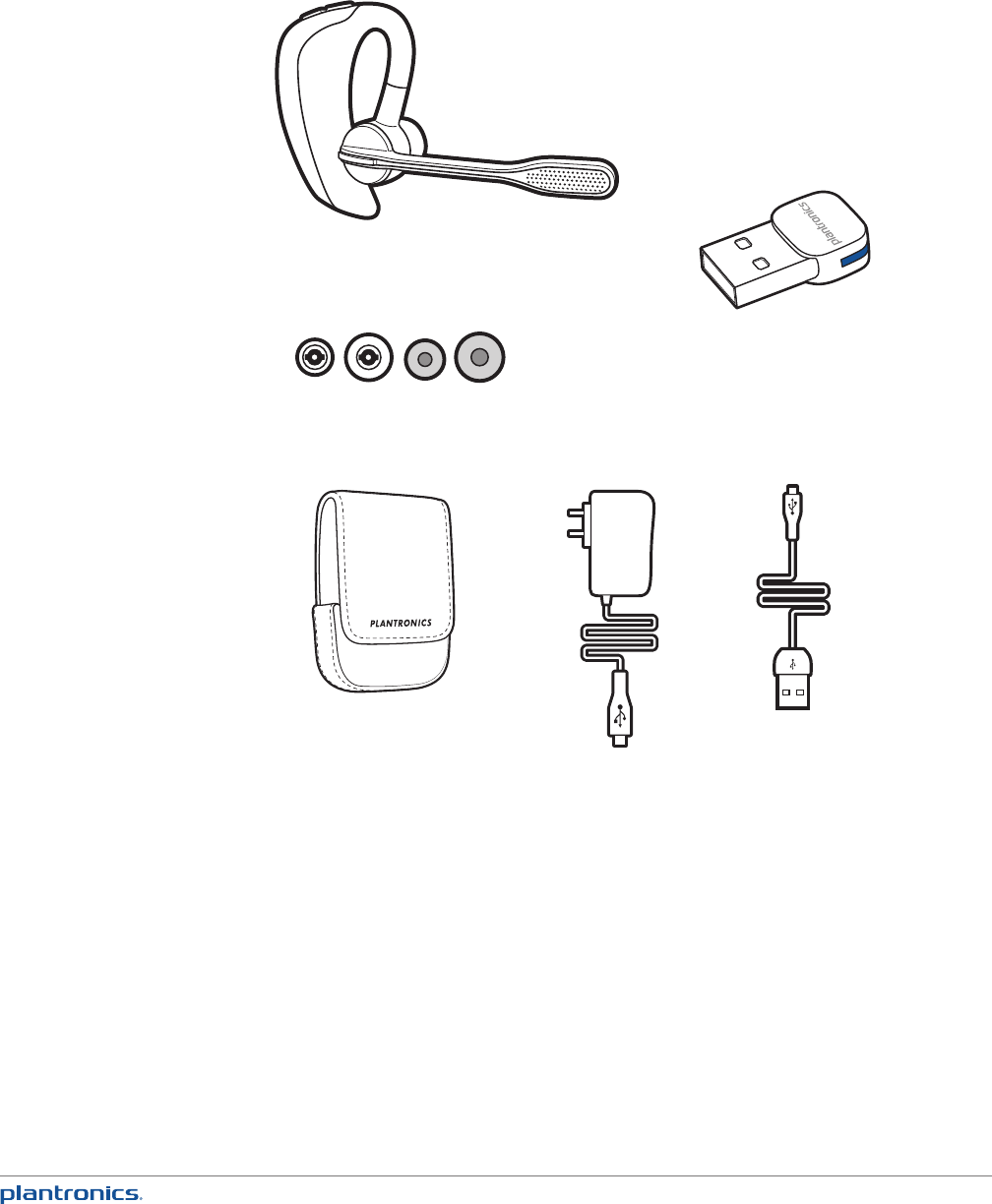 Page 4 of Plantronics Bluetooth Headset UC v2 User Guide