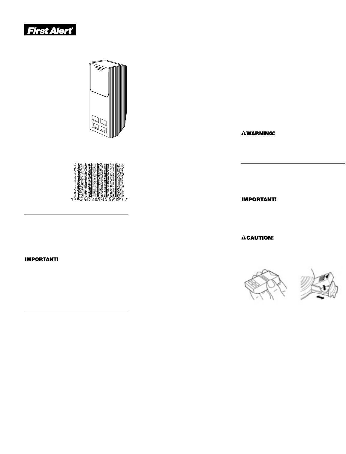 Garrison carbon monoxide alarm user guide