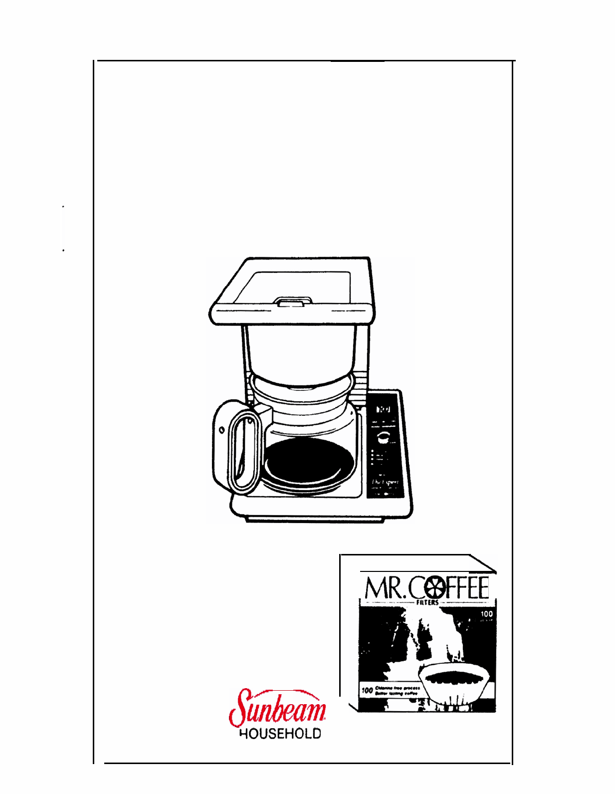 Mr. Coffee Coffeemaker EXP1 or EXP3 User Guide