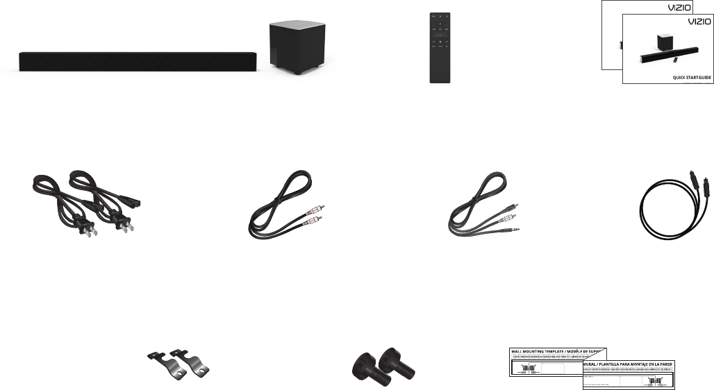 Page 4 of Vizio Home Theater System SB3831-C6M User Guide