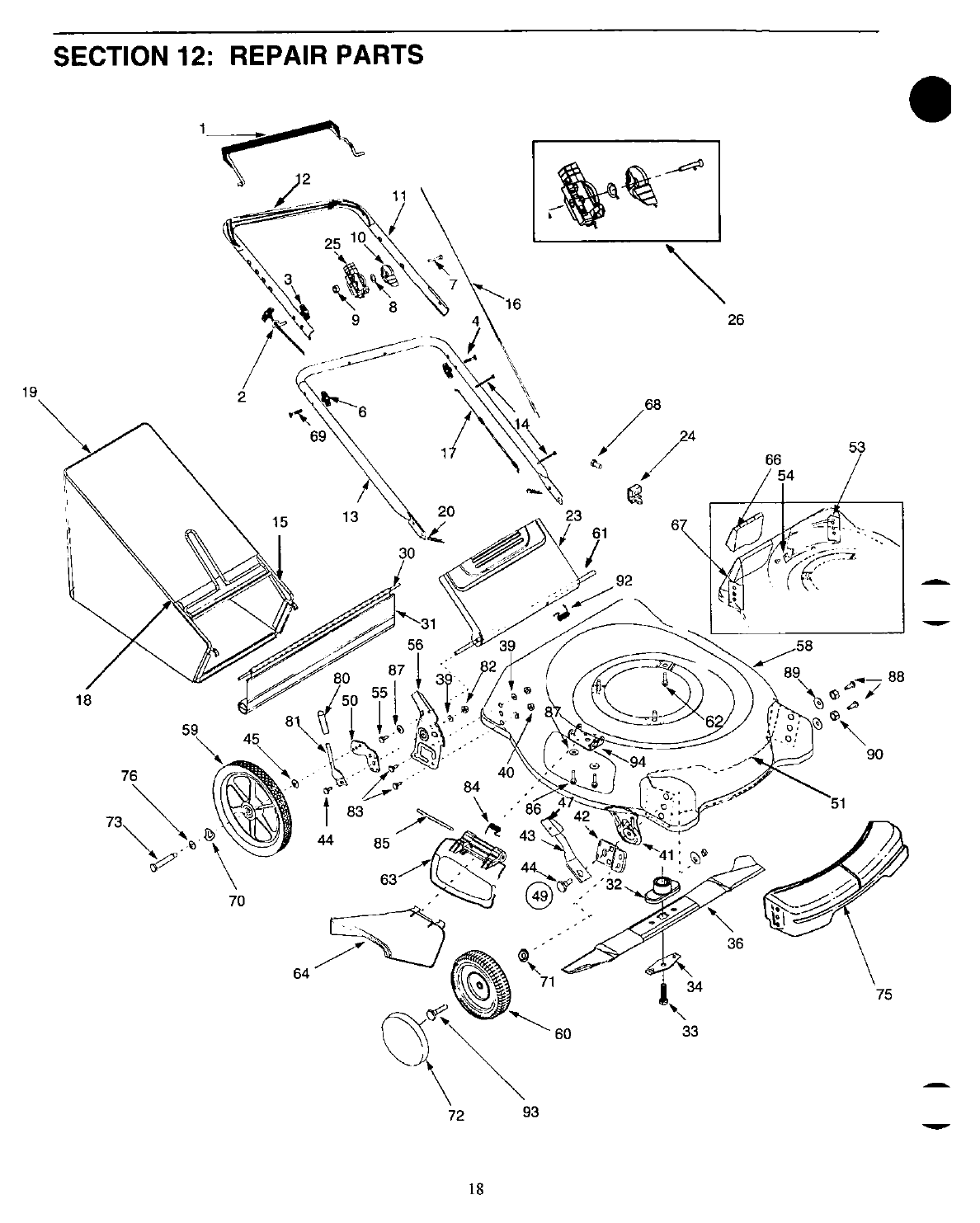 Page 18 of Yard-Man Lawn Mower 11A-549C401 User Guide