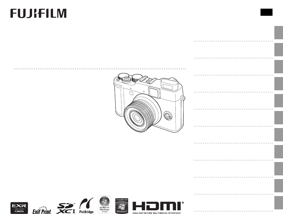 FujiFilm Digital Camera 16190089 User Guide