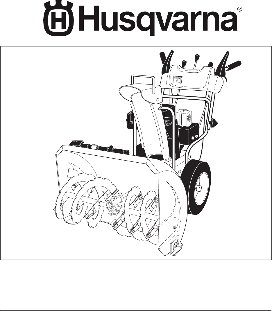 Yard Machines Snow Blower 12527SB User Guide