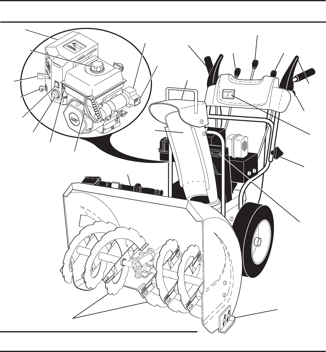 Page 9 of Yard Machines Snow Blower 12527SB User Guide