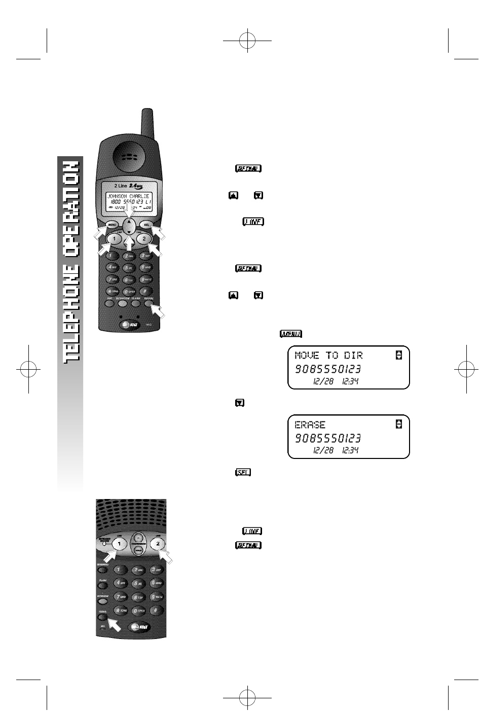 Page 23 of AT&T Cordless Telephone 1412 User Guide