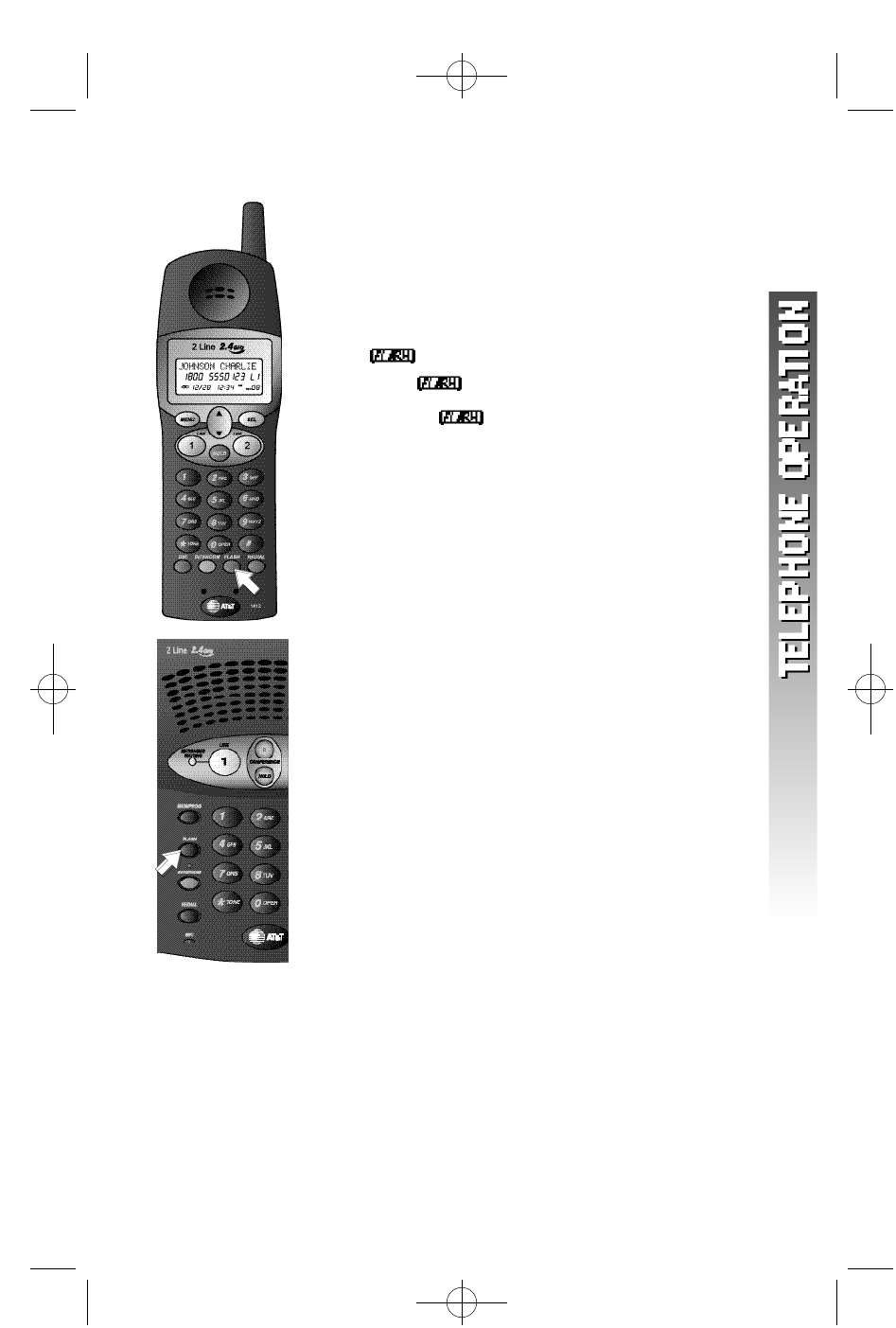Page 24 of AT&T Cordless Telephone 1412 User Guide