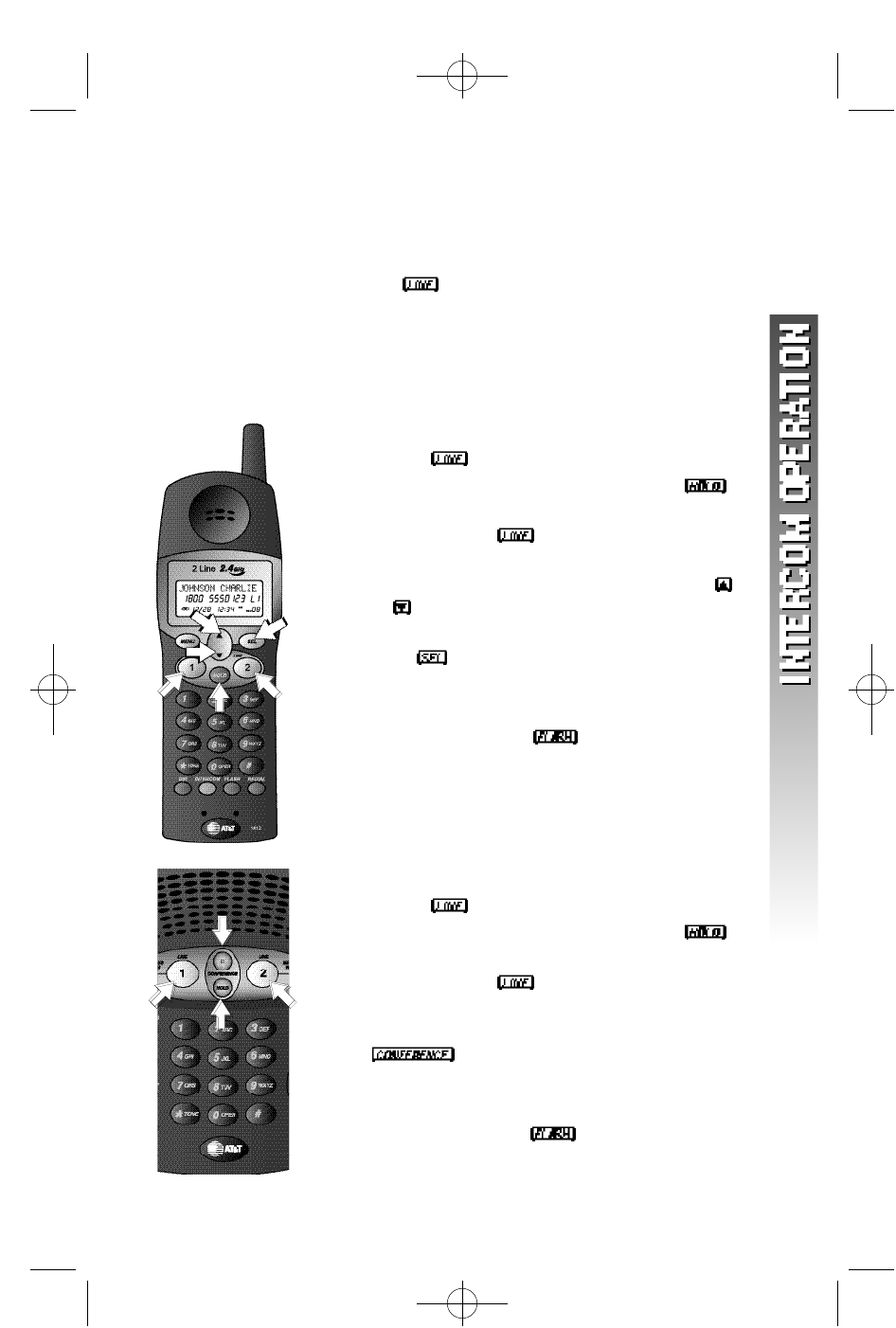 Page 32 of AT&T Cordless Telephone 1412 User Guide