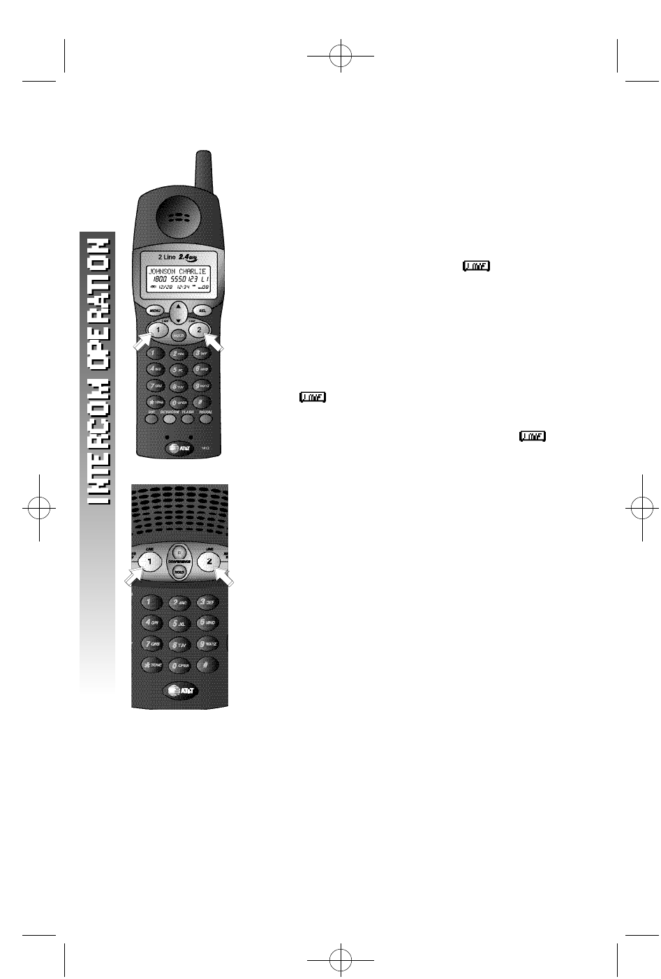 Page 33 of AT&T Cordless Telephone 1412 User Guide